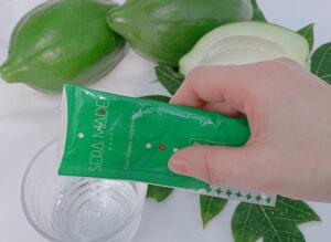 もちだ農園は広島県世羅郡で青パパイヤを生産しています。